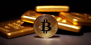 The correlation of gold to the cryptocurrency market