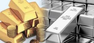 Gold and silver continue the pattern lower