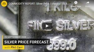 Silver Price Forecast: September 2020 [VIDEO]