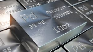 Palladium Up $37.92 in Last 4 Hours, Outperforms All metals