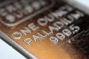 Palladium (XPDUSD) Up $53.42 Over Past 4 Hours