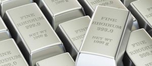 RHODIUM up another $600 to $14,600 / oz