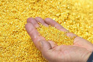 Gold edges up as investors await final word on U.S. coronavirus relief pact