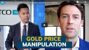 Gold price manipulation is real; JPMorgan's spoofing case explained