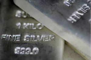 Silver Slides Back Below $25.00