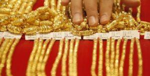 China's net gold imports via Hong Kong slide in October