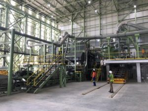 Engineering firm helps create 'clean' antimony and gold processing plant