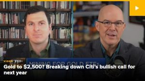 Gold to $2,500: Two ETF analysts break down Citi's bullish call for 2021