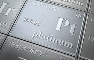 Why platinum looks very strong