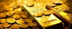 Why does gold rise in price when demand for it has fallen?