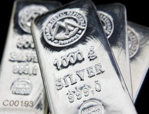 One billion ounces of silver traded in London on Monday as prices surged