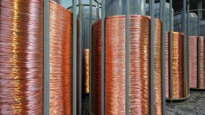 Copper gains as Chinese liquidity worries ease