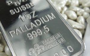 Palladium rises on positive demand outlook