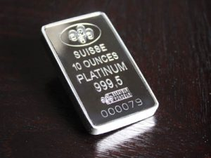 Is platinum's price rise due to substitution or seasonality?