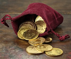 The future of money is gold