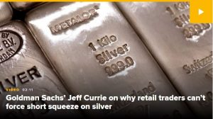Silver is a 'turbo-charged version of gold' due to use in solar panels, Goldman's Jeff Currie says