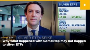 Why silver may have staved off the GameStop effect, according to GraniteShares CEO