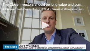 Investors should be long value and commodities: WisdomTree Asset Management's Weniger