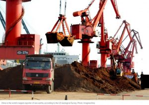 China mulls export curbs on rare earths, report says