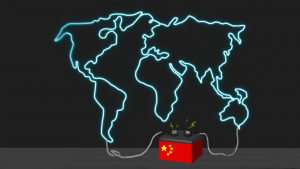 China is becoming the world's battery factory